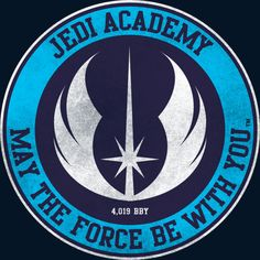 Jedi Academy - Est 4019 BBY is a T Shirt designed by StarWars to illustrate your life and is available at Design By Humans Jedi Symbol, Science Fiction, Galactic Republic, Star Wars Images, Star Wars Tattoo, Jedi Knight, Star Wars Wallpaper, Star Wars Fan Art, Graphic Artwork