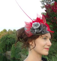 Over the Top 149 BY DIANNE GRAHAM  #millinery #hats #HatAcademy