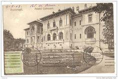 Bucuresti - Palatul Cotroceni - 1908