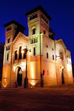 La iconografía de la Iglesia de San Jorge resume la fe y la tradición de un pueblo que honra a su patrón San Jorge con la anual Fiesta de Moros y Cristianos. #Alcoy #Alcoi #Iglesias