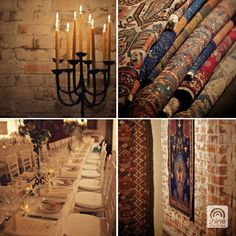 Winter wedding details at Fables Gallery Wedding Details, Candles, Spaces, Weddings, Gallery, Winter, Winter Time, Roof Rack, Wedding