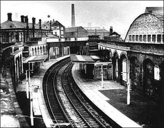 Loop line station - Hanley Old Train Station, Train Stations, Disused Stations, Train Pictures, Stoke On Trent, Train Tracks, Newcastle, Historical Photos, Old Photos