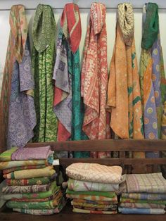 Kantha Quilts from Recycled Saris