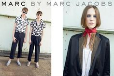 Chris Davis and Sebastian Ahman front the Spring/Summer 2014 campaign of Marc by Marc Jacobs , photographed by Juergen Teller . Star Fashion, Fashion News, Fashion Brands, Marc Jacobs 2014, Spring 2014, Spring Summer, Summer 2014, Vogue Portugal, Chris Davis