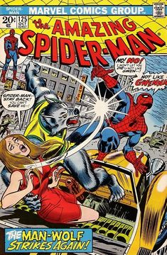 The Amazing Spider-Man #125 - October 1973