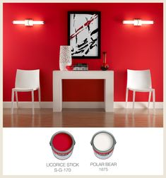 Colorfully, BEHR :: Love That Red! Behr Paint Colors, Interior Design Advice