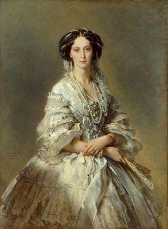 Portrait of Empress Maria Alexandrovna by Francis Xavier Winterhalter.