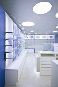 Perissinotti Pharmacy by Alessia Silvestrelli store design