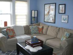 living room blue paint | Blue Living Room Color Schemes