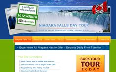 Niagara Toronto Tours is one of the oldest companies in Canada to offer quality, exciting tours from Toronto to Niagara Falls. Wisevu built this website with e-commerce functionalities. You can book tours to Niagara straight from their website.