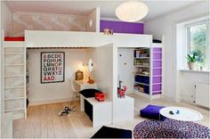This is perfect for those two children that want their own room but can't get it!