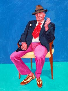 David Hockney Exhibition - 82 portraits & 1 still life. Coming to LACMA in 2018