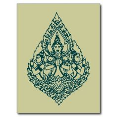 Lao Buddha prayer tattoo