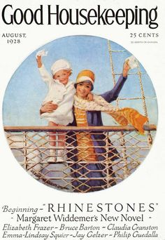 Good Housekeeping Aug 1928 - Cover ILL.  by  Jessie Wilcox Smith