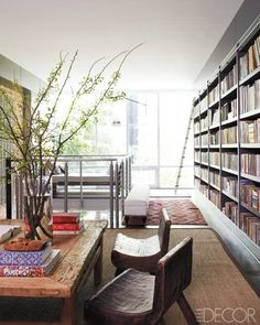 Ok, if I had a home library it would look like this! <3