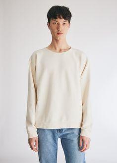 Dye Crew Neck Sweatshirt in Ivory Need Supply Co, Crew Neck Sweatshirt, Pullover, 50 Fashion, Ivory, Neckline, Usa, Medium, Sweatshirts