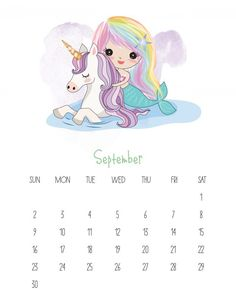 Today we have an adorable Free printable 2018 Kawaii Mermaid Calendar that you are simply going to adore! Cuteness overload awaits you! ENJOY!