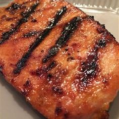 Smoky Grilled Pork Chops - Allrecipes.com Important to mix liquid seasonings and apply first to meat, then mix dry spices and apply as a rub, so there's no sticky paste.