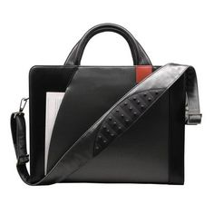 (Limited Supply) Click Image Above: Microfiber Nylon Business Cases Double Zip Briefcase Color: Gunmetal