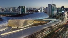 Zaha Hadid and long-term collaborator Patrik Schumacher's have completed a project in the historically charged Jung District in Seoul, South Korea.