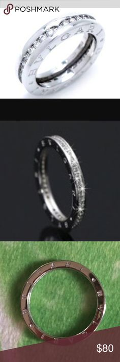 please read this a brand new bvlgari ring size 8
