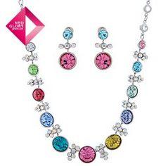 Aliexpress.com : Buy Neoglory jewelry fashion necklace / earrings set women Titanium ear pin jewelry sets free shipping wedding dress costume from Reliable jewelry set suppliers on NEOGLORY JEWELRY