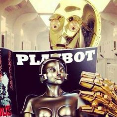 C-3PO going dirty.