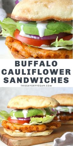 Vegan Sandwich Recipes, Tasty Vegetarian Recipes, Veggie Sandwich, Healthy Eating Recipes, Vegetarian Sandwiches, Vegan Meal Plans, Vegan Meal Prep, Entree Recipes, Veggie Recipes