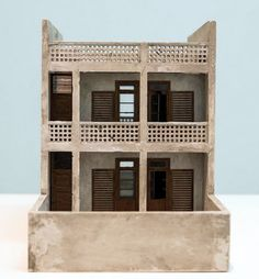 After Doxiadis - A proposal for a new housing. Marwa Arsanios.