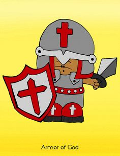 Armor Of God Poster At Lessons4SundaySchool Perfect For Your Sunday School Class