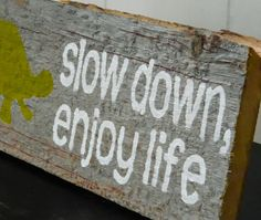 Rustic Barnwood Wall Art HandPainted Wood Sign  by TheDoubleDubs, $25.00