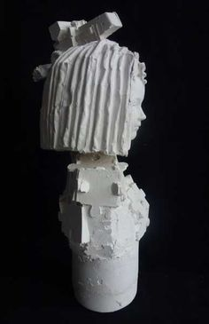 Plaster Busts by Kathy Dalwood