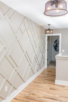 Wood Wall Design, Accent Wall Designs, Accent Walls In Living Room, Home Upgrades, House Rooms, Home Accents, Home Projects, Home Remodeling, Home Decor