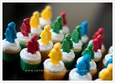 Lego mini cupcakes sweets