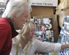 working with Anthony Zerbe creating a character through costume Design.