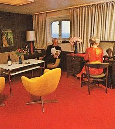 S S France The First Class Smoking Room Was Designed By