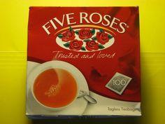 Box of Five Roses Tea
