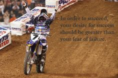 Supercross. I can't wait to see it again!  Great quote here too