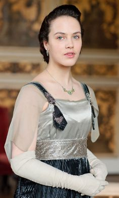 Downton Abbey's Best Fashion Moments - Lady Sybil Crawley (later Branson) from InStyle.com