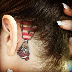 50 Great Tattoos Inspired by Children's Books