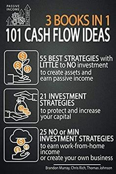 Free Download 101 Cash Flow Ideas 55 Best Strategies With Little To No Investment To Create Assets Create Your Own Business Investing Cash Flow
