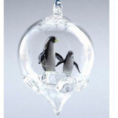 Ornament - Penguin with Baby