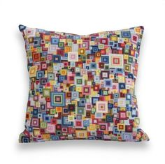 ACrafty Interview with Cresus Parpi Ancora Crafts Crochet Cushions, Crochet Pillow, Cross Stitch Embroidery, Cross Stitch Patterns, Crochet Patterns, Chart Design, Colorful Pillows, Diy Pillows, Crochet Crafts