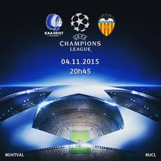 MATCHDAY!!! LET'S GET SPANISH! #gntval #UCL