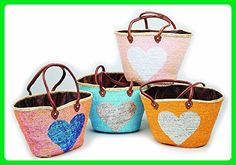 Moroccan French Shoulder Bag Heart - Shoulder bags (*Amazon Partner-Link)