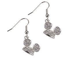 Mickey Mouse Ear Hat Earrings by Arribas | Jewelry | Disney Store- Vanessa