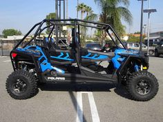 New 2017 Polaris RZR® 4 900 EPS ATVs For Sale in California. VELOCITY BLUE MSRP $19499 Plus Fees PLUS A $300 REBATE! and 2.99% FINANCING! (oac) till 12/31/16 Share the RZR® off-road experience with friends and family. CREDIT PROBLEMS? WE CAN HELP! Price does not include government fees, taxes, dealer freight/preparation, dealer document preparation charges or any finance charges (if applicable). Advertised price includes cash discount.