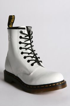 Dr. Martens 1460 Boot  #UrbanOutfitters . . . Guess I'd better dig my Docs outa the bottom of the closet. They're starting to recycle trends a lots sooner it seams. Or I'm just getting old.