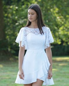 Dresses For Teens, Fall Dresses, Outfits For Teens, Cute Dresses, Fall Outfits, Prom Dresses, Wedding Dresses, White Outfits, Dress Outfits