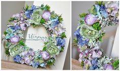 spring wreath, wianek